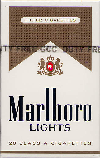Marlboro light inhaltsstoffe