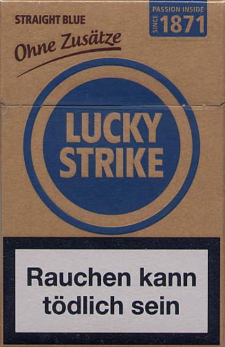 Cigarete bez aditiva lucky strike