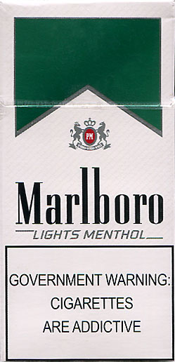 Salem menthol lights box