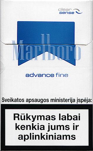 marlboro advance probepackung