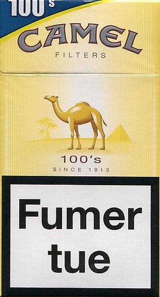 Camel Filters 100's 20FR2016