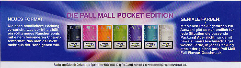 Pall Mall Pocket Edition 19DE2009