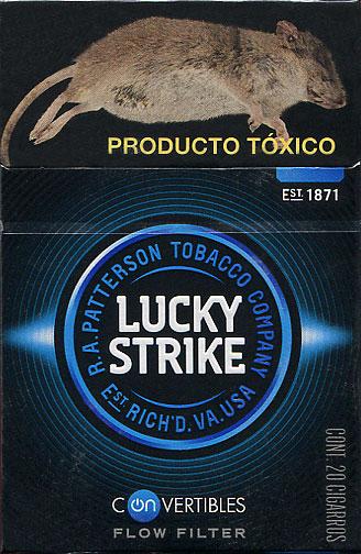Lucky Strike Convertibles Flow Filter 20MX2015