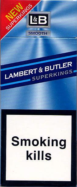 Lambert Amp Butler Superkings Smooth 10gb2006