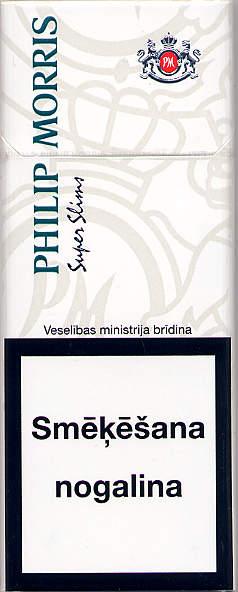 philip morris super slims menthol 20lv2007